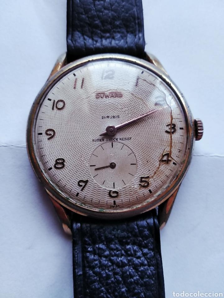 cc036577a337 Reloj de caballero Duward Super Shock Resist 21 rubis automático tal cual.