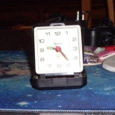 Relojes automáticos: RELOJ DESPERTADOR DE VIAJE MARCA WESTCLOX. Lote 118868539