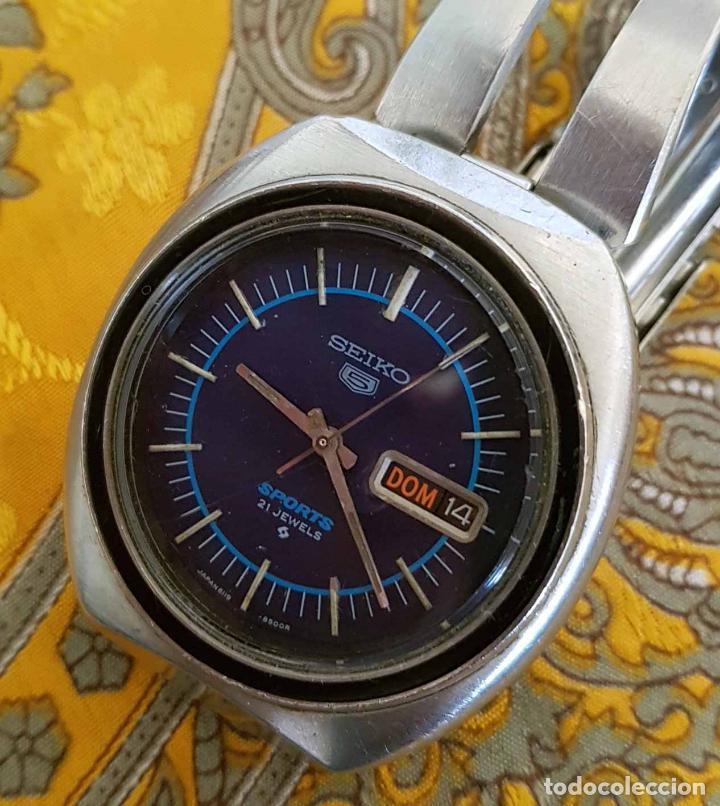 907d54ba3bfe Reloj seiko 5 sport automático 6119 8450 - Sold through Direct Sale ...