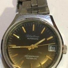 Relojes automáticos: RELOJ BLATTINA AUTOMÁTICO EN ACERO MAQUINARIA SUIZA VINTAGE PARA COLECCIONISTAS. Lote 207046733