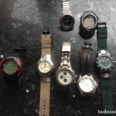 Relojes automáticos: 7 RELOJES DE PULSERA. ALGUNO FUNCIONA. Lote 119437288