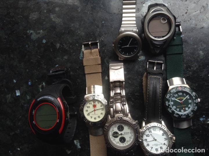 Relojes automáticos: 7 relojes de pulsera. Alguno funciona - Foto 2 - 119437288