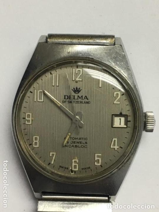 Relojes automáticos: reloj Delma suizo automatico en funcionamiento - Foto 3 - 146861090