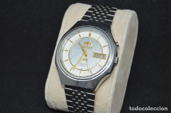 Relojes automáticos: ANTIGUO - VINTAGE - RELOJ DE PULSERA - ORIENT CRYSTAL 469JD6 80 CA - AUTOMATIC - MADE IN JAPAN - Foto 2 - 120401399