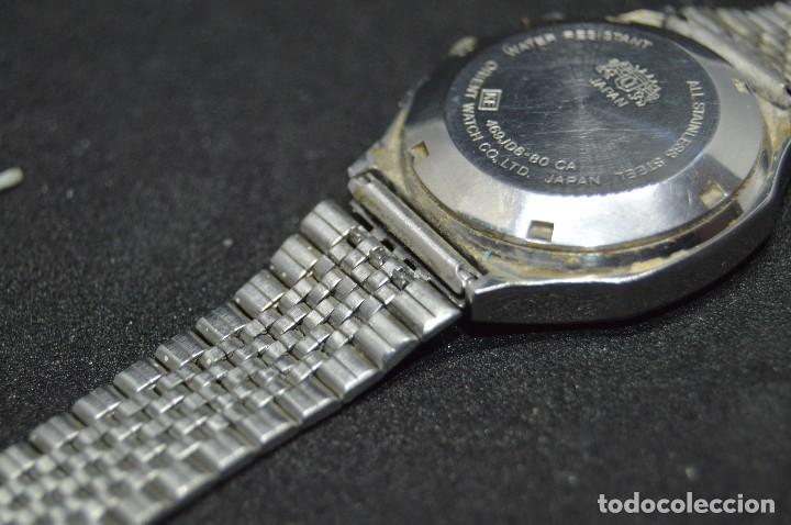 Relojes automáticos: ANTIGUO - VINTAGE - RELOJ DE PULSERA - ORIENT CRYSTAL 469JD6 80 CA - AUTOMATIC - MADE IN JAPAN - Foto 13 - 120401399
