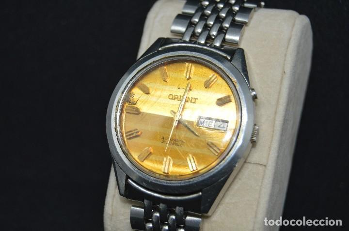 ANTIGUO - VINTAGE - RELOJ DE PULSERA - ORIENT G5469715 8A PT - AUTOMATIC - MADE IN JAPAN (Relojes - Relojes Automáticos)