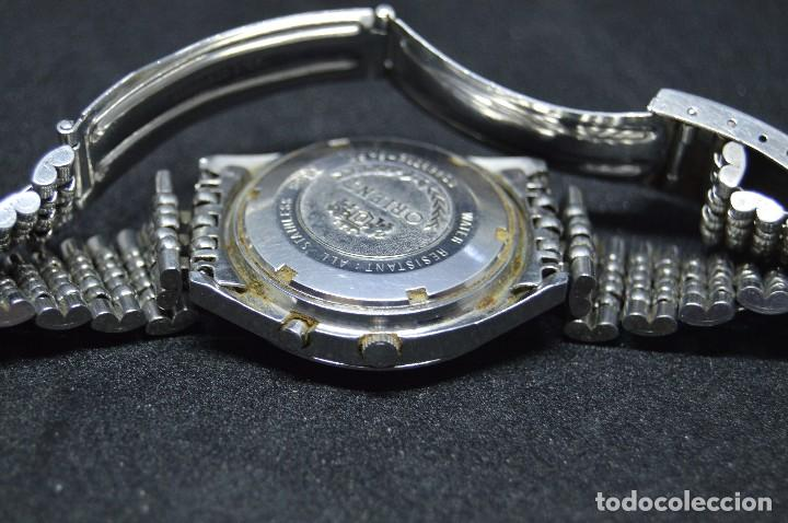 Relojes automáticos: ANTIGUO - VINTAGE - RELOJ DE PULSERA - ORIENT G5469715 8A PT - AUTOMATIC - MADE IN JAPAN - Foto 9 - 153122400