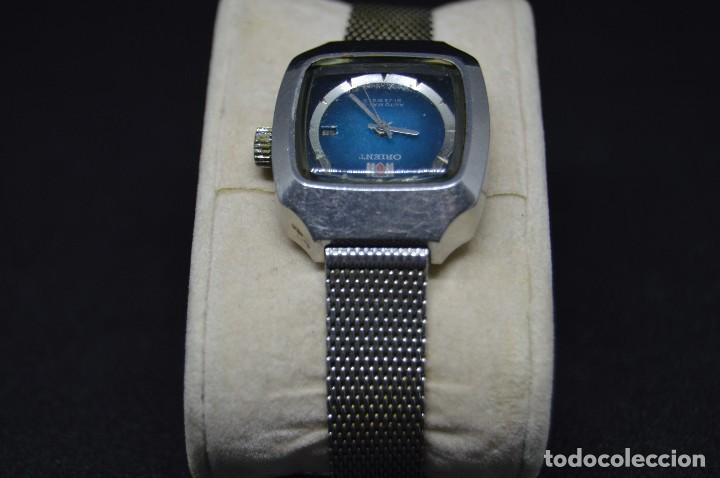 Relojes automáticos: ANTIGUO - VINTAGE - RELOJ DE PULSERA - ORIENT LM497782 20PK - AUTOMATIC - MADE IN JAPAN - Foto 6 - 120404823