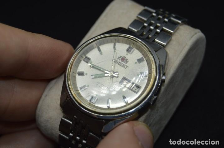 Relojes automáticos: ANTIGUO - VINTAGE - RELOJ DE PULSERA - ORIENT OS469624 71 - AUTOMATIC - MADE IN JAPAN - Foto 2 - 120405543