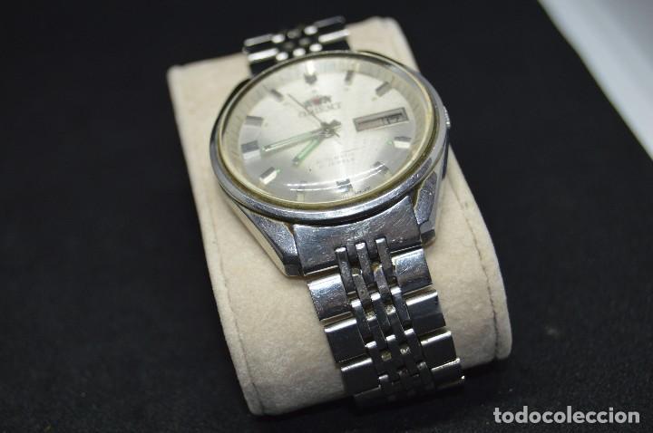 Relojes automáticos: ANTIGUO - VINTAGE - RELOJ DE PULSERA - ORIENT OS469624 71 - AUTOMATIC - MADE IN JAPAN - Foto 5 - 120405543