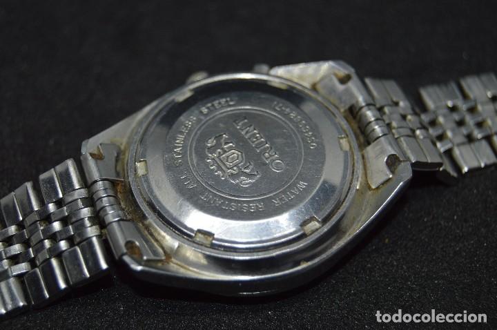 Relojes automáticos: ANTIGUO - VINTAGE - RELOJ DE PULSERA - ORIENT OS469624 71 - AUTOMATIC - MADE IN JAPAN - Foto 9 - 120405543