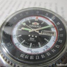 Relojes automáticos: RELOJ ANTIGUO AUTOMATICO ORIENT HOMBRE 45MM VINTAGE RARO MUY ESCASO CAJA GRANDE RAREZA. Lote 114347791