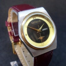 Relojes automáticos: RELOJ VINTAGE (AÑOS 70-80) PARA DAMA - MARCA CITIZEN - AUTOMÁTICO - PEQUEÑO 30 MM -. Lote 121500139