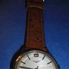 Relojes automáticos: LONGINES AUTOMATIC WATERPROOF - RELOJ AUTOMATICO , CALENDARIO , FUNCIONANDO PERFECTAMENTE . Lote 121793875
