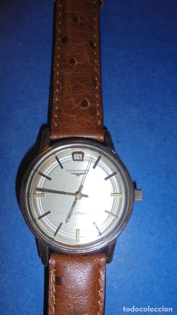 Relojes automáticos: LONGINES AUTOMATIC WATERPROOF - RELOJ AUTOMATICO , CALENDARIO , FUNCIONANDO PERFECTAMENTE - Foto 2 - 121793875