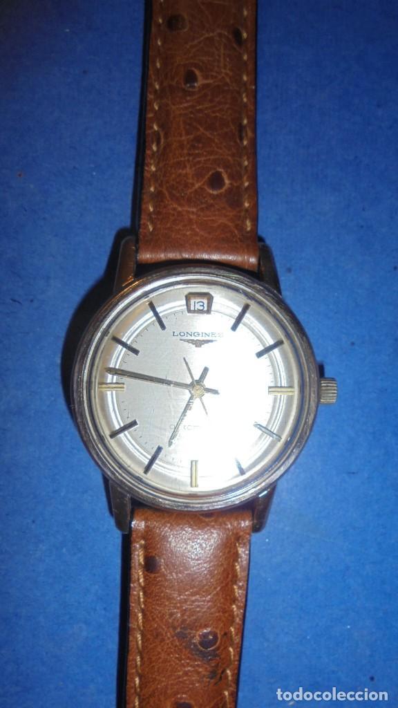 Relojes automáticos: LONGINES AUTOMATIC WATERPROOF - RELOJ AUTOMATICO , CALENDARIO , FUNCIONANDO PERFECTAMENTE - Foto 3 - 121793875