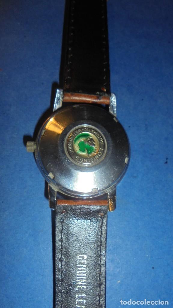 Relojes automáticos: LONGINES AUTOMATIC WATERPROOF - RELOJ AUTOMATICO , CALENDARIO , FUNCIONANDO PERFECTAMENTE - Foto 4 - 121793875