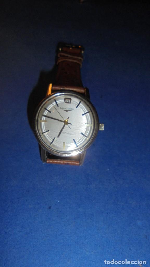 Relojes automáticos: LONGINES AUTOMATIC WATERPROOF - RELOJ AUTOMATICO , CALENDARIO , FUNCIONANDO PERFECTAMENTE - Foto 5 - 121793875
