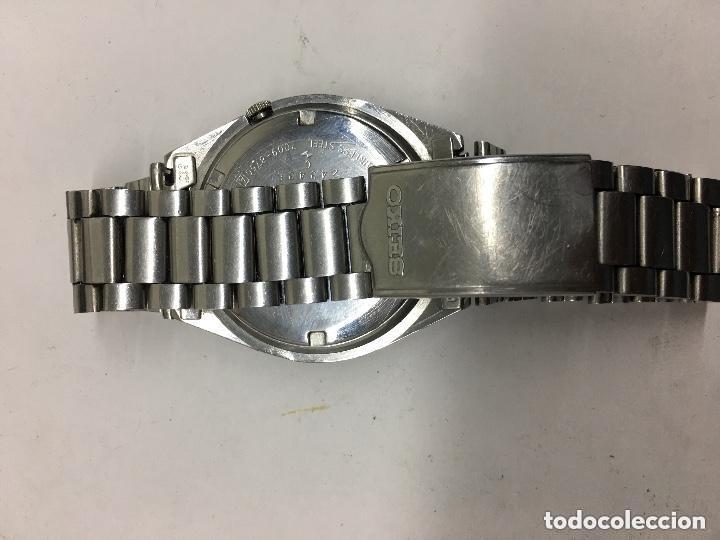 Relojes automáticos: RELOJ SEIKO AUTOMATICO N 5 DOBLE DIAL ESFERA DIFICIL FUNCIONANDO - Foto 3 - 121959935