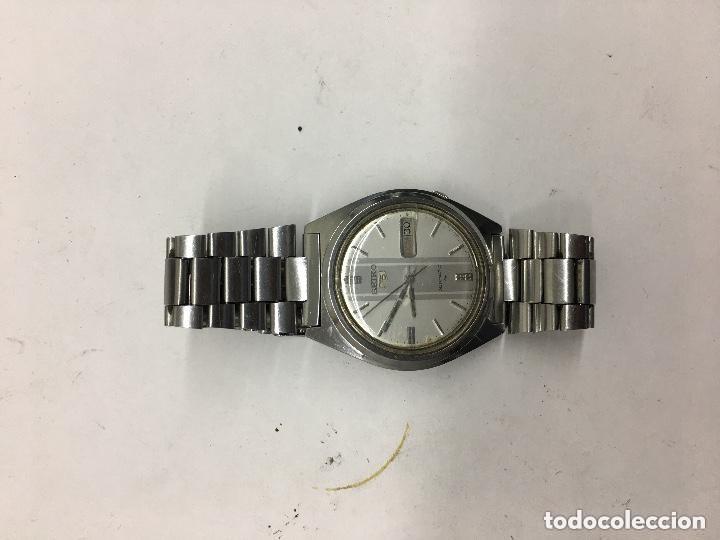Relojes automáticos: RELOJ SEIKO AUTOMATICO N 5 DOBLE DIAL ESFERA DIFICIL FUNCIONANDO - Foto 4 - 121959935