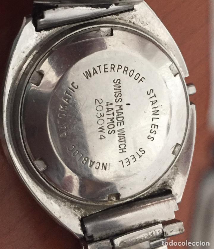 Relojes automáticos: RELOJ AUTOMATICO TITAN TP-073 25 Jewels Incabloc - Foto 2 - 121966951