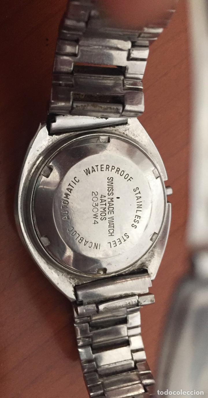 Relojes automáticos: RELOJ AUTOMATICO TITAN TP-073 25 Jewels Incabloc - Foto 3 - 121966951