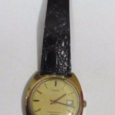 Relojes automáticos: RELOJ AUTOMATICO TIMEX CHAPADO EN ORO DIAL A LAS 3 FUNCIONANDO. Lote 121969735