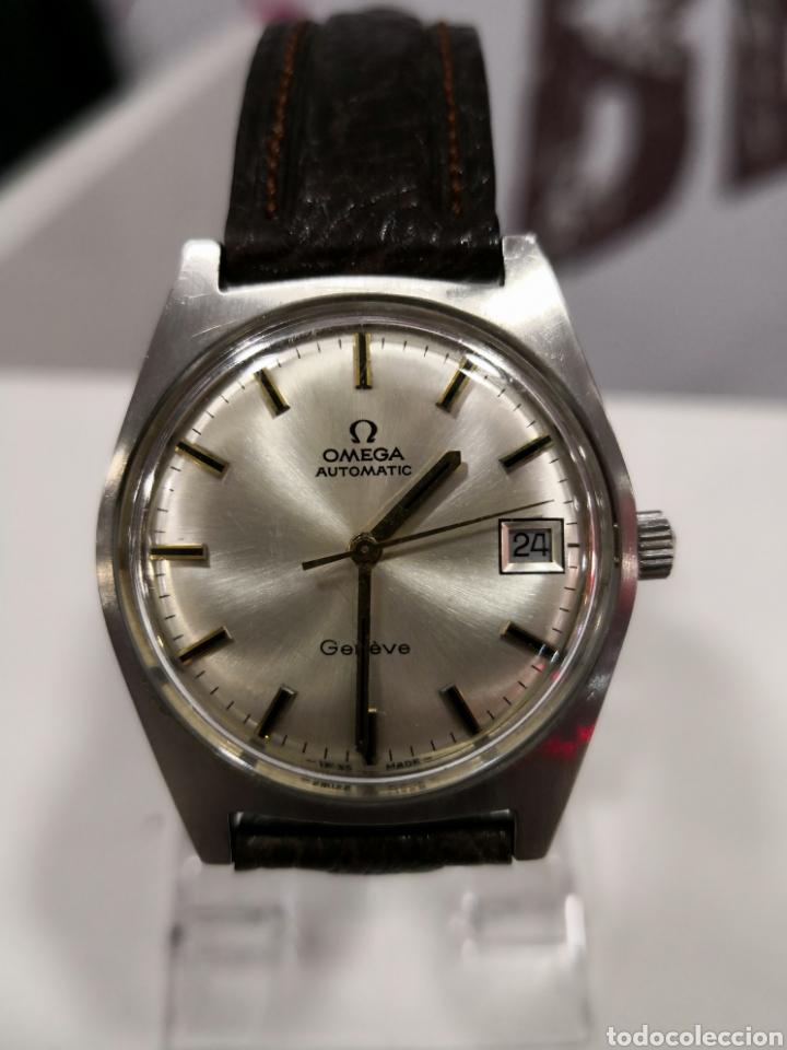 Relojes automáticos: Reloj omega geneve automático calibre 565 - Foto 2 - 122003098
