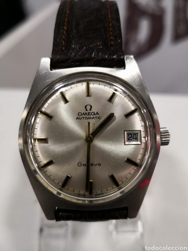 Relojes automáticos: Reloj omega geneve automático calibre 565 - Foto 3 - 122003098