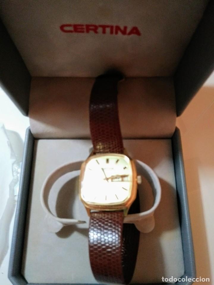 Relojes automáticos: Reloj Certina de caballero - Foto 2 - 122299059