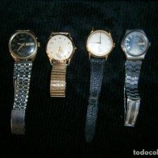 Relojes automáticos: LOTE DE DOS RELOJES MANUALES Y DOS AUTOMATICOS (LEER). Lote 122530599