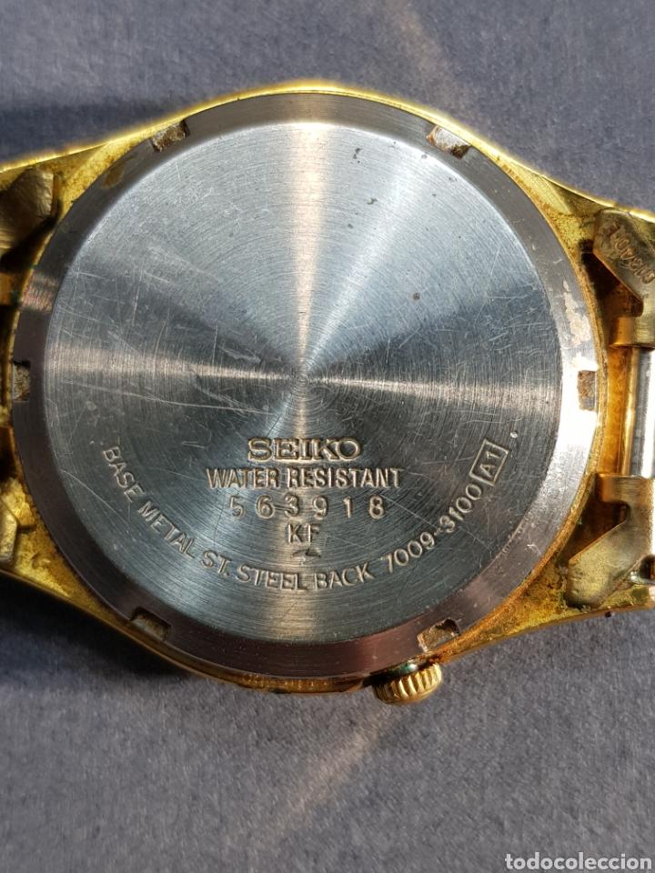Relojes automáticos: Reloj Seiko 5 Automatic 7009 449R R chapado en oro - Foto 2 - 122910063