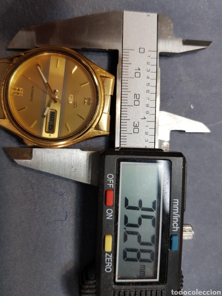 Relojes automáticos: Reloj Seiko 5 Automatic 7009 449R R chapado en oro - Foto 5 - 122910063