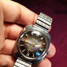 Relojes automáticos: DUWARD 17 JEWELS INCABLOC AUTOMATIC CON DÍA . Lote 124010215