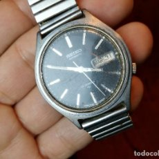 Relojes automáticos: SEIKO 17 JEWELS INCABLOC AUTOMATIC CON DÍA. Lote 124010743