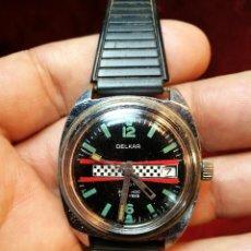 Relojes automáticos: DELKAR 17 RUBIS INCABLOC AUTOMATIC CON DÍA . Lote 124012051
