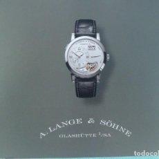 Relojes automáticos: LIBRO RELOJ A. LANGE-SOHNE, RELOJ DE LUJO. Lote 124151019