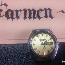 Relojes automáticos: BOTITO RELOJ THERMIDOR AUTOMÁTICO, PARA REPARAR O PIEZAS, AUNQUE ECHA A ANDAR NADA MAS SE MUEVE..... Lote 124239315