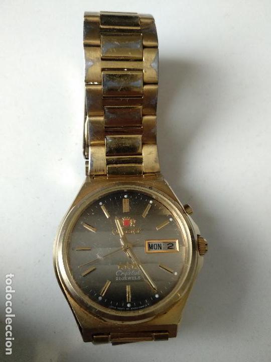 Relojes automáticos: Reloj Orient automático Crystal 21 jewels funcionando - Foto 2 - 124264867