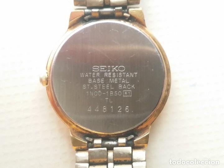 Relojes automáticos: RELOJ SEIKO QUARTZ - Foto 4 - 124668827