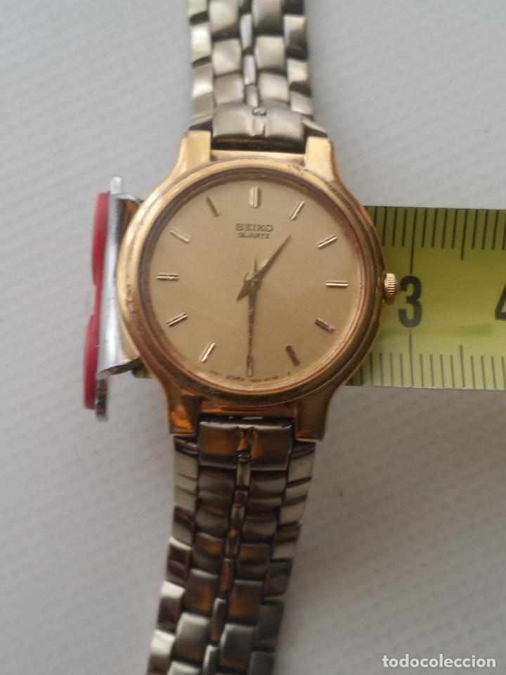Relojes automáticos: RELOJ SEIKO QUARTZ - Foto 5 - 124668827