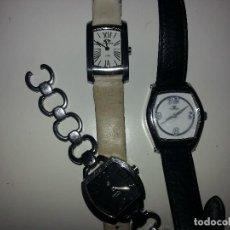 Relojes automáticos: TRES RELOJES PULSERA DE MARCA . Lote 125861775