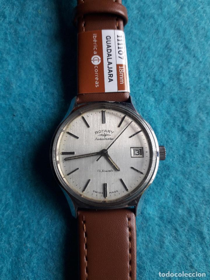 Relojes automáticos: Reloj Rotary Automátic. Clásico de caballero. Funcionando. - Foto 7 - 126583455