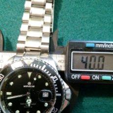 Relojes automáticos: NIRVAINE DIVER AUTOMATICO FECHA COMO NUEVO. Lote 126795490