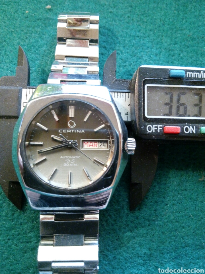 RELOJ CERTINA DS 3, 25 JEWELS AUTOMATIC DATE -DAY SWISS MADE (Relojes - Relojes Automáticos)