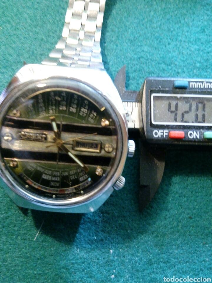 ORIENT MULTIYEAR, ESFERA PERSONALIZADA AUTOMATIC DATE-DAY RELOJ MUY COTIZADO Y ESCADO (Relojes - Relojes Automáticos)