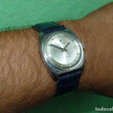 Relojes automáticos: PRECIOSO RELOJ EDOX HYDROMATIC AUTOMATICO ACERO CALIBRE ETA 2472 VINTAGE AÑOS 60 COLECCIÓN. Lote 127463027