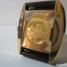 Relojes automáticos: ANTIGUO RELOJ TISSOT VINTAGE VISODATE AUTOMATIC SEASTAR SEVEN MILITAR CHAPADO ORO HOMBRE. Lote 127589567