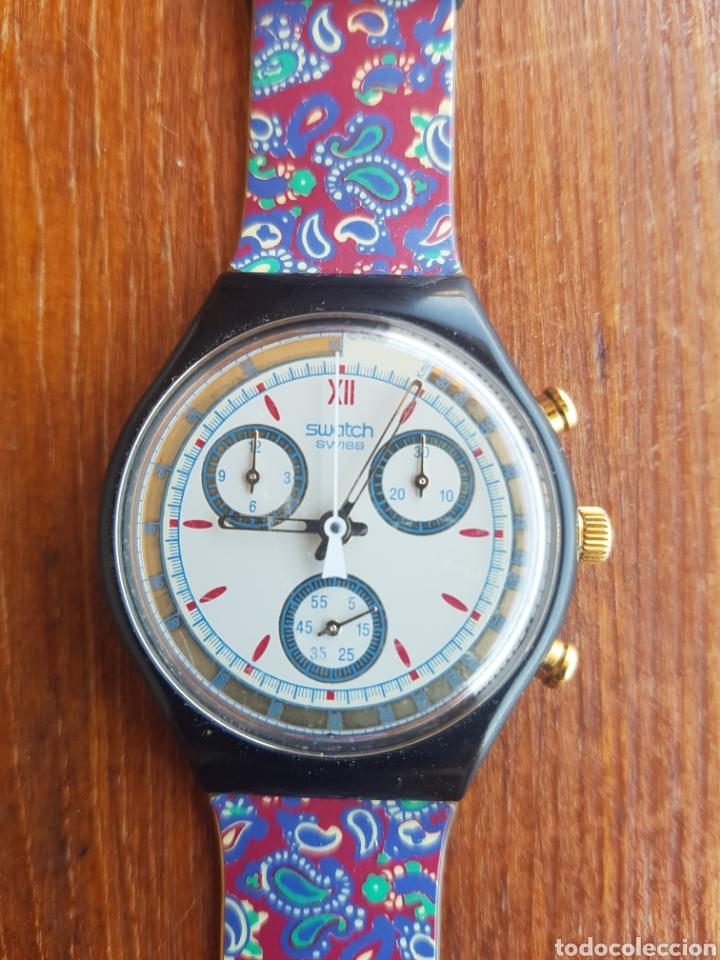 Relojes automáticos: Reloj suizo Swatch swiss. Vintage. - Foto 7 - 127738707