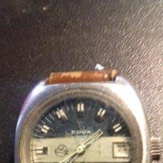 Relojes automáticos: RARO EDOX BLUEBIRD CAMION PEGASO. Lote 127963547